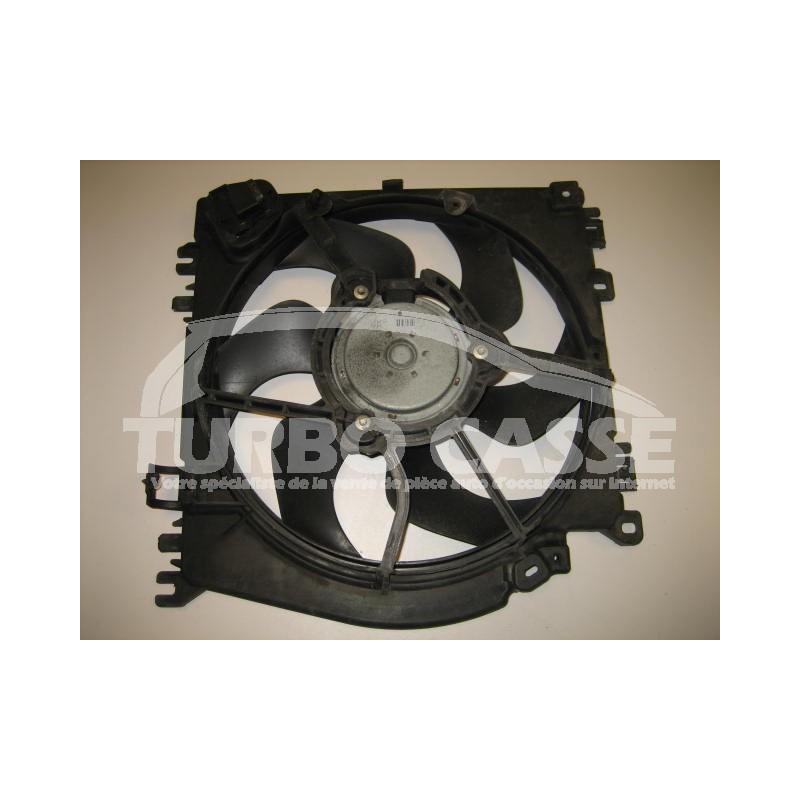 bloc support ventilateur renault clio iii 1 5l dci occasion turbo casse. Black Bedroom Furniture Sets. Home Design Ideas