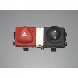 Interrupteur de feu de détresse et fermeture Renault Mégane II