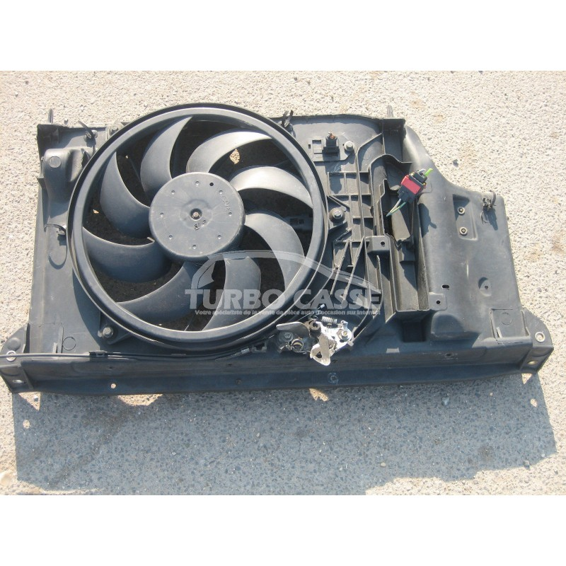 bloc support ventilateur peugeot 206 2 0l hdi turbo casse. Black Bedroom Furniture Sets. Home Design Ideas